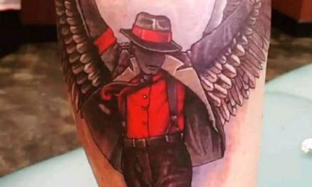 Michael Jackson's son, Prince, honours his dad with new tattoo