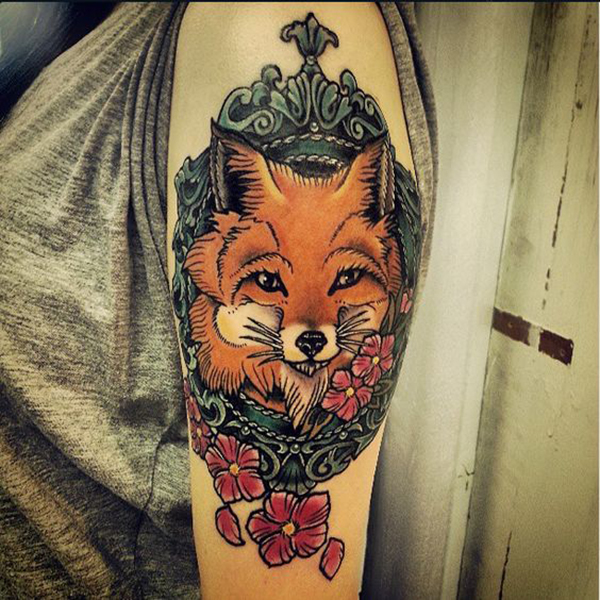 Fox Tattoo for Girls