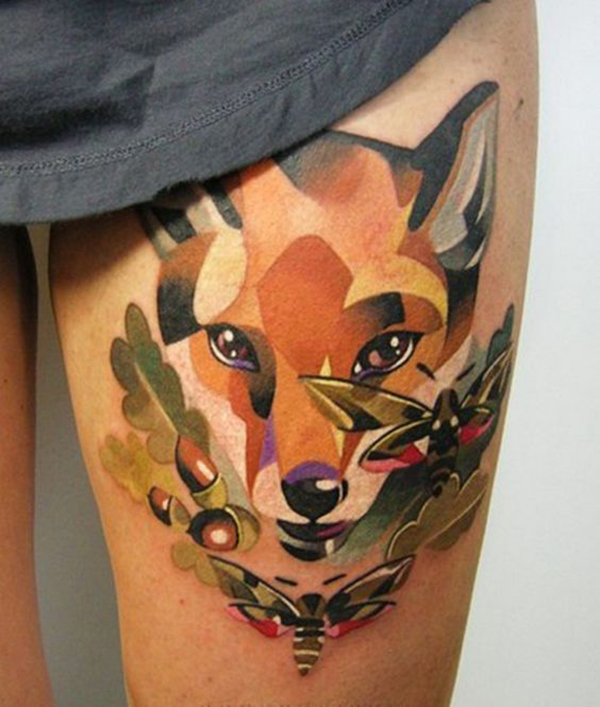 Girl Animal Tattoos