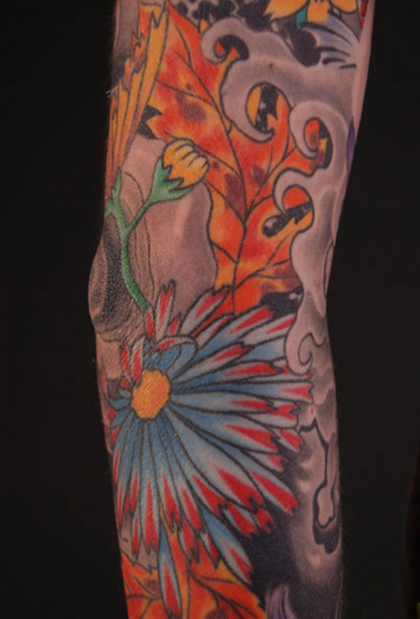 Paul Timman Color Tattoos