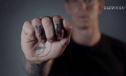 Daniel Agger Gets Liverpool Tattoo with Ami James