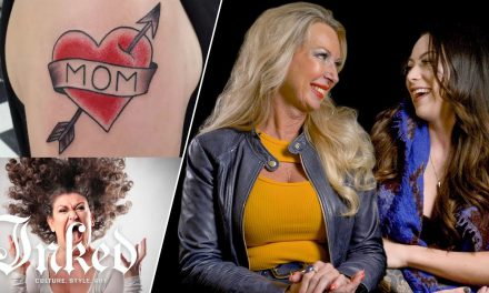 "Tattoo Artists Answer ""What Does Your Mom Think of Your Tattoos?"" 