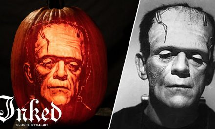 Carving Frankenstein's Monster into a Pumpkin | INKED