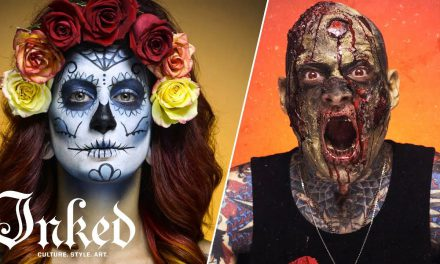 Day of the Dead and Zombie Makeup Tutorials | INKED