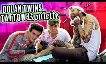 Dolan Twins – TATTOO ROULETTE!! (drawing contest, giving first tattoo + SURPRISE!)