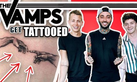 The VAMPS get TATTOOED !! ( by Romeo Lacoste)