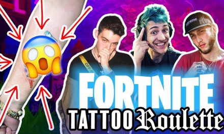 Fortnite TATTOO ROULETTE !! w/ Faze Banks, Adapt, Romvn + tattooing Ninja RECAP