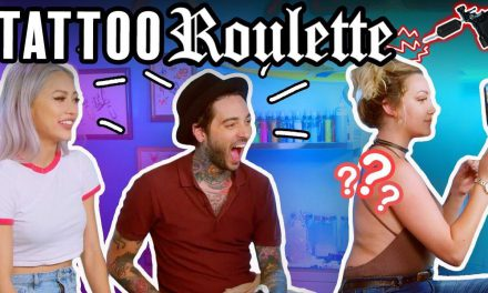Tattoo Roulette (Game Show!) ep. 5 – Romeo Lacoste, Funny Tattoo, Eating Bugs