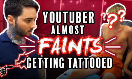 Tanner Braungardt gets a NEW TATTOO!! (PAINFUL) by Romeo Lacoste