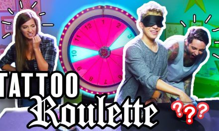 Tattoo Roulette ep. 2 – Gabbie Show , Romeo Lacoste (Official Game Show!)