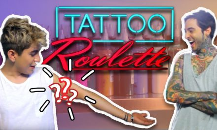 I Got My Own TV Show!! (REAL Tattoo Roulette!! ft. Biggest YOUTUBERS)