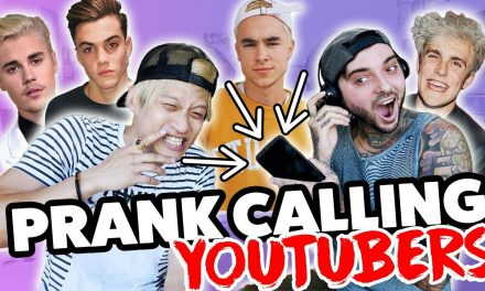 PRANK CALLING PEOPLE BUT WE CAN'T HEAR THEM (Justin Bieber, Grayson, Jake Paul, Banks, Kian & Jc)