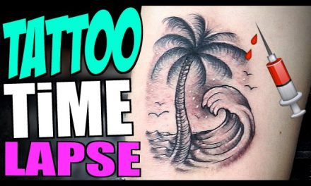 TATTOO Timelapse – PALM TREE ( ft. Tanner Fox )