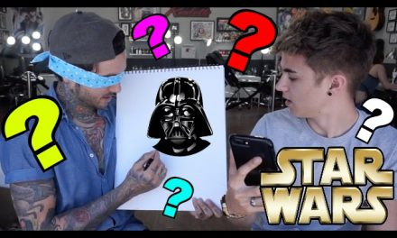 Drawing STAR WARS in 15 SECONDS (w/ Jake Mitchell )