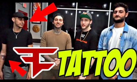 FAZE LOGO TATTOO!!! (ft. Faze Rain, Banks & Nikan)