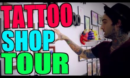 TATTOO SHOP TOUR!! (The California Dream)