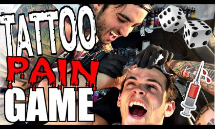 TATTOO PAIN GAME! (ft. The Janoskians! )