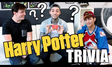 Harry Potter TRIVIA! (LOSER EATS HOT PEPPER!!) ft. Thomas Sanders
