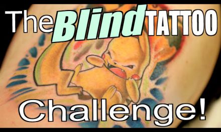 The Blind TATTOO Challenge!