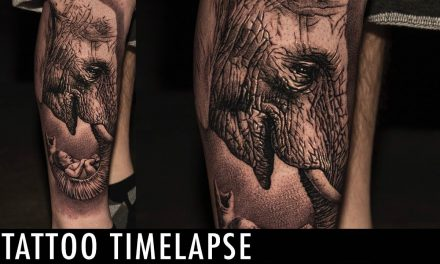 Tattoo Timelapse – Dmitry Troshin