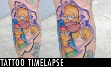 Tattoo Timelapse – Josh Herman