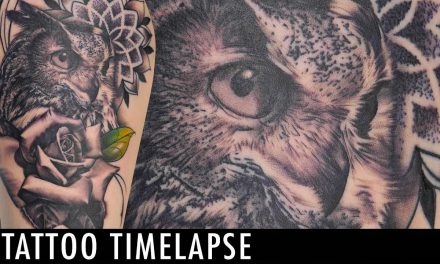 Tattoo Timelapse – Alec Turner