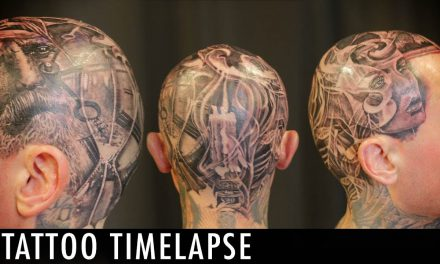 Tattoo Timelapse – Arron Raw