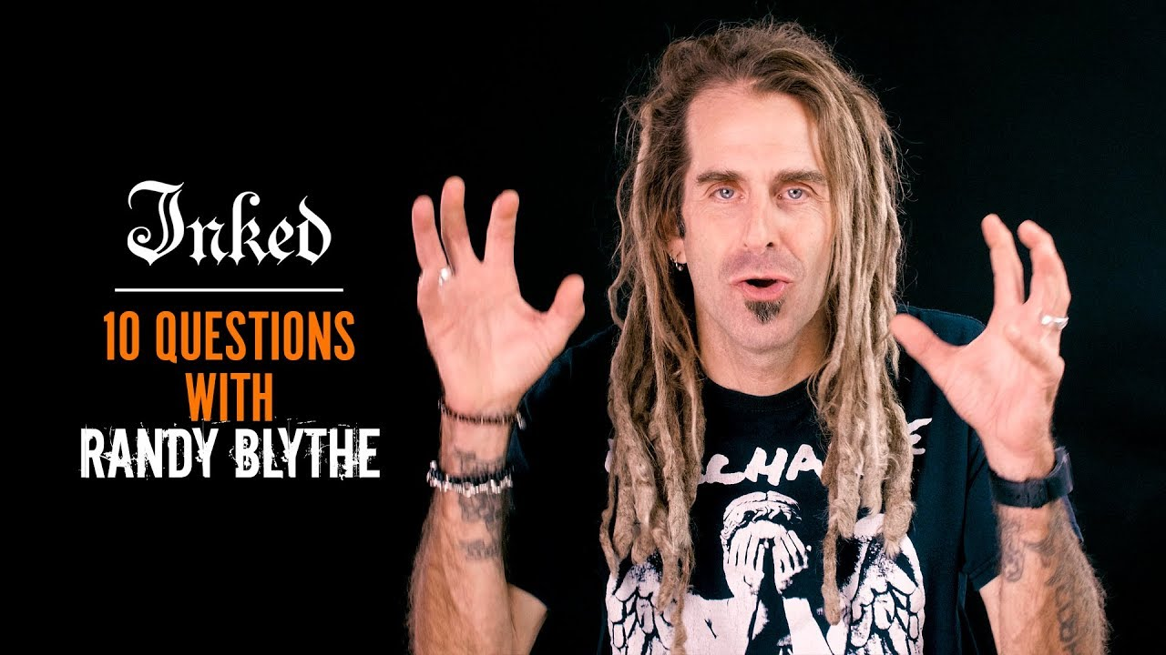 Cookie Monster Metal Voice with Lamb of God's Randy Blythe | INKED