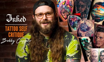 Tattoo Artist Critiques his Old Tattoos | INKED