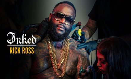 Rick Ross BTS Cover Photoshoot – Inked