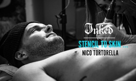 Stencil to skin with Nico Tortorella and Joice Wang – Inked