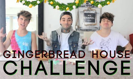 GINGERBREAD CHALLENGE! ft. Kian Lawley & Jc Caylen