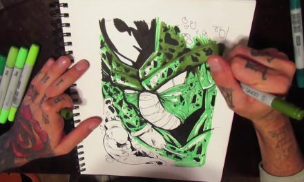 HOW TO DRAW – Cell from DBZ
