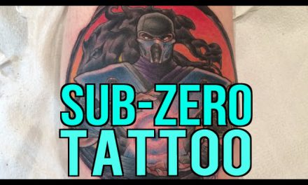 MORTAL KOMBAT TATTOO !! – Subzero