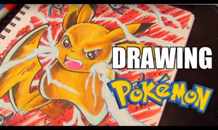 How To Draw Pikachu ( POKEMON speed drawing)