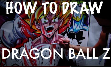 HOW TO DRAW Dragon Ball Z EPIC