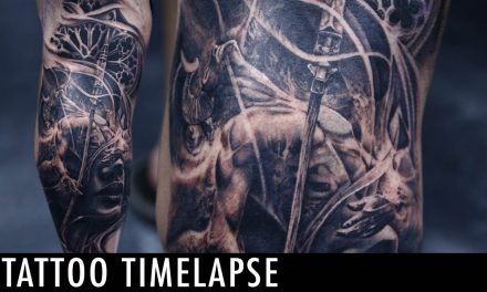 Tattoo Timelapse – Tony Mancia