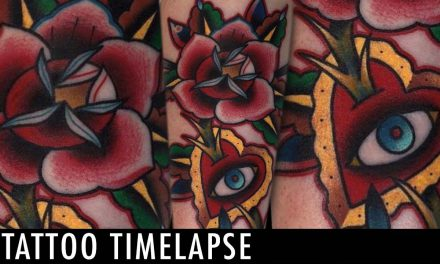 Tattoo Timelapse – Chris Papadakis