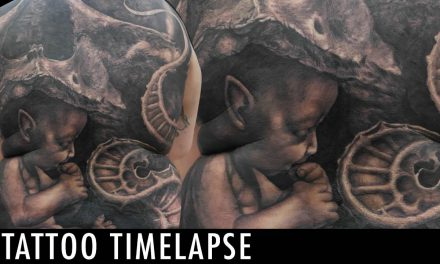 Tattoo Timelapse – The Rat Pack