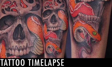 Tattoo Timelapse –  Neil Mcleod