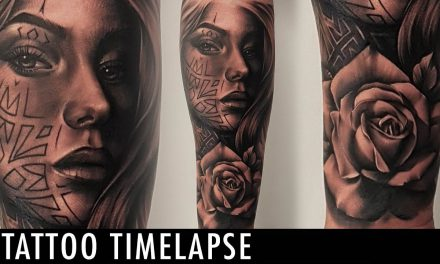 Tattoo Timelapse – Poly Tattoo
