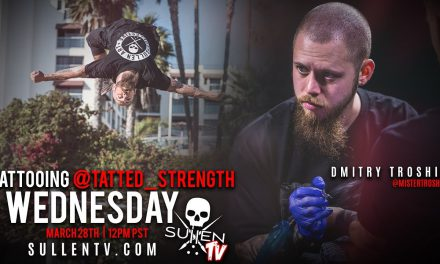 Live Tattoo | Dmitry Troshin Tattooing @Tatted_strength