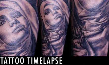 Tattoo Timelapse – Denis Sivak