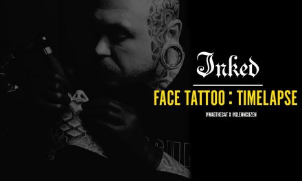 Amazing face tattoo time lapse – Inked