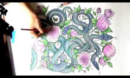 Serena Draws Snakes Time Lapse Video – Inked