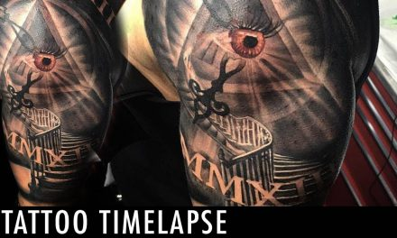 Tattoo Timelapse – Wes Hogan