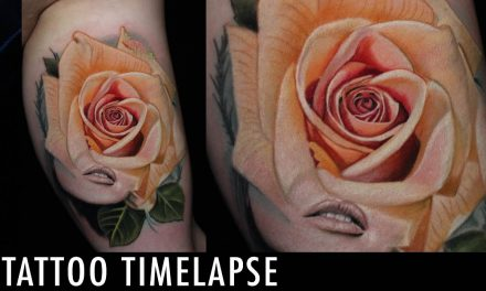 Tattoo Timelapse – Nathan Anderson