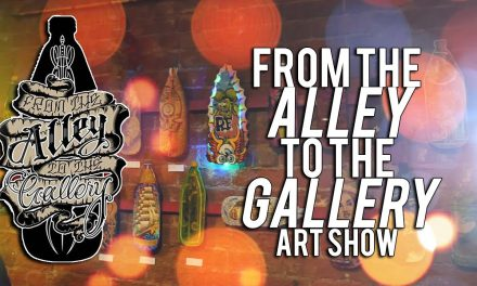 From The Alley To The Gallery Art Show