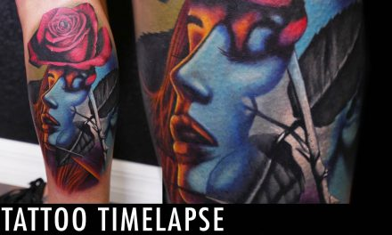Tattoo Timelapse – Geoffery Shelter