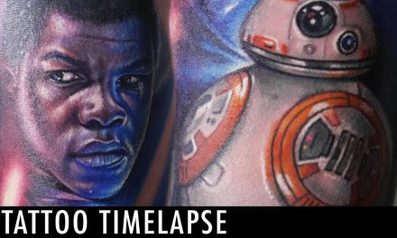 Tattoo Timelapse – London Reese